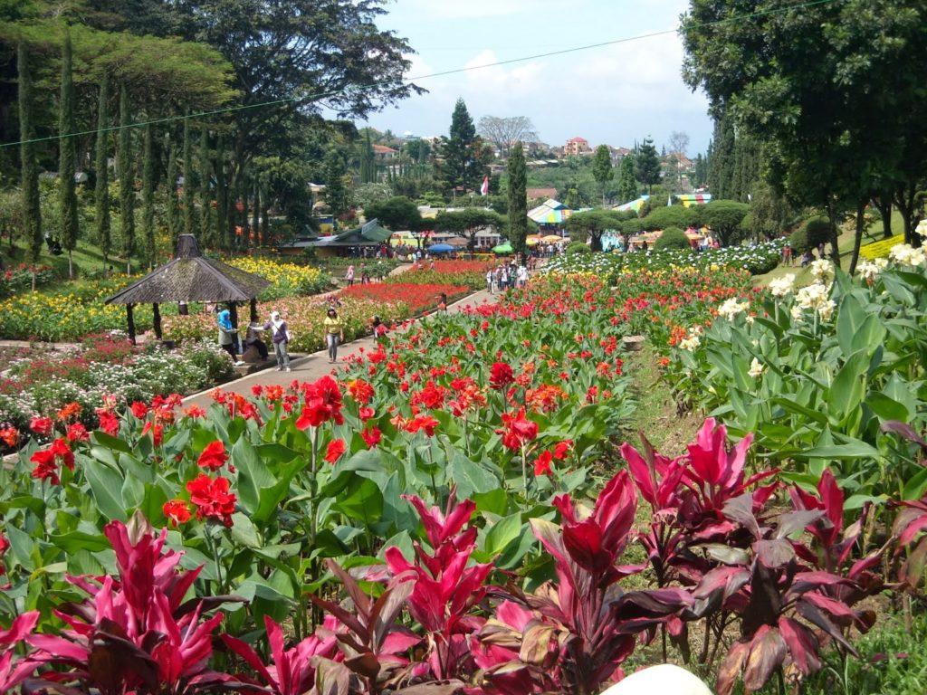 taman bunga Lembang